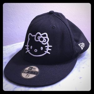 Hello Kitty x New Era fitted baseball hat